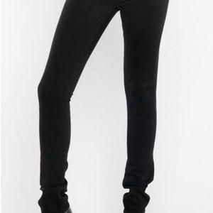 J Brand Jett Black Pencil Leg Skinny Jeans